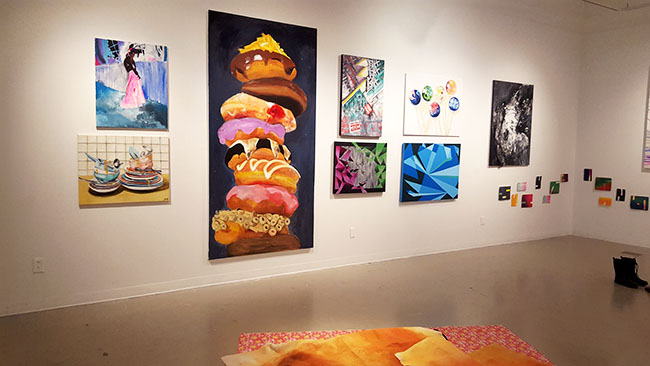 Painting Area Group Exhibition @ The Gales Gallery,Main Lobby, Accolade West Building, York University
