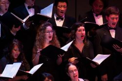 York University Concert and Chamber Choirs @ Tribute Communities Recital Hall, 112 Accolade East Building, York University