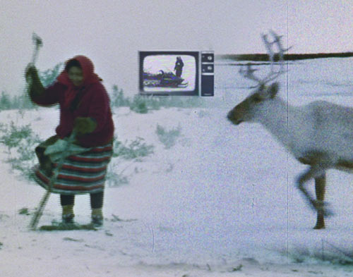Screen capture from Caribou in the Archives by Jennifer Dysart.