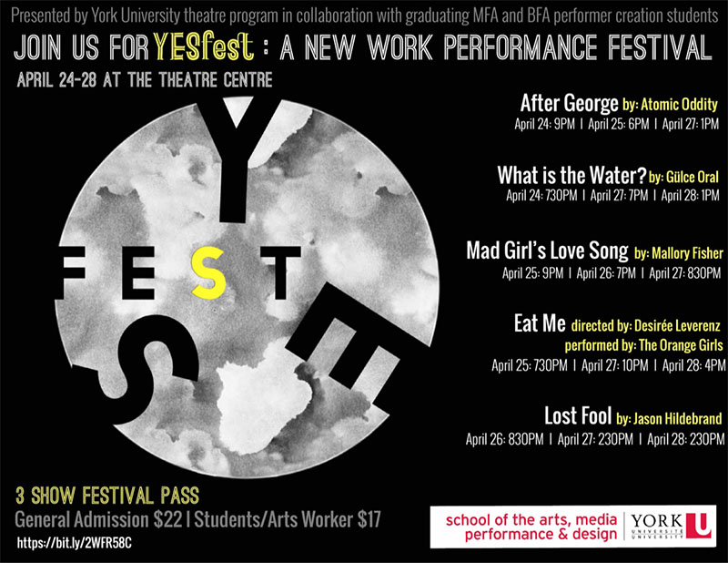 Flyer for Yes Fest