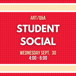 ART/Q&A Student Social @ Zoom